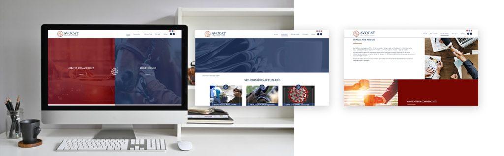 Equhip Avocat site vitrine WordPress sur-mesure
