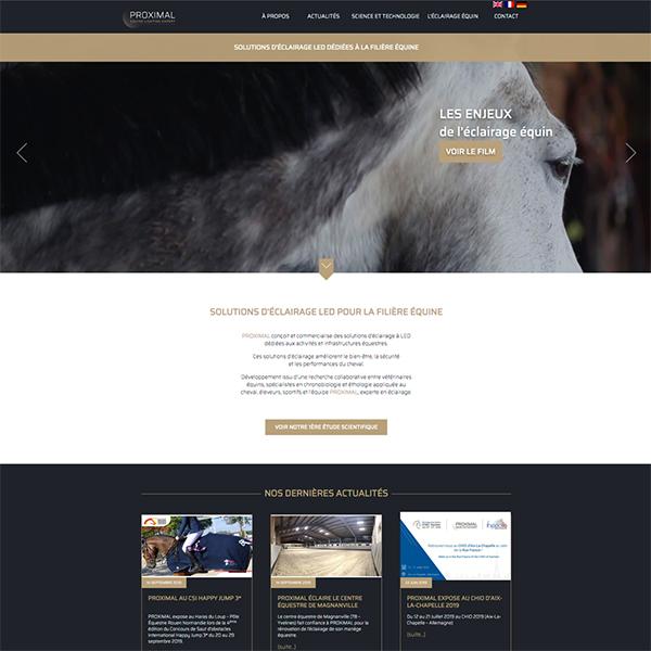 Site Internet équin sur mesure
